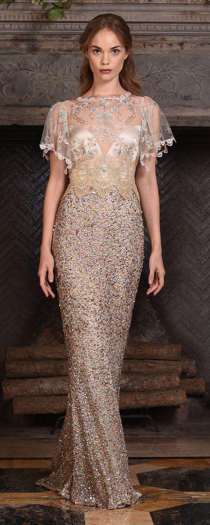 dc16f2cc43c Claire Pettibone Couture Vinatge Wedding Dresses 2017 Zodiac   http   www. himisspuff