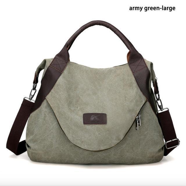 245604f4716 Cleo - Womens Canvas Messenger Handbag   Products   Bags, Handbags ...