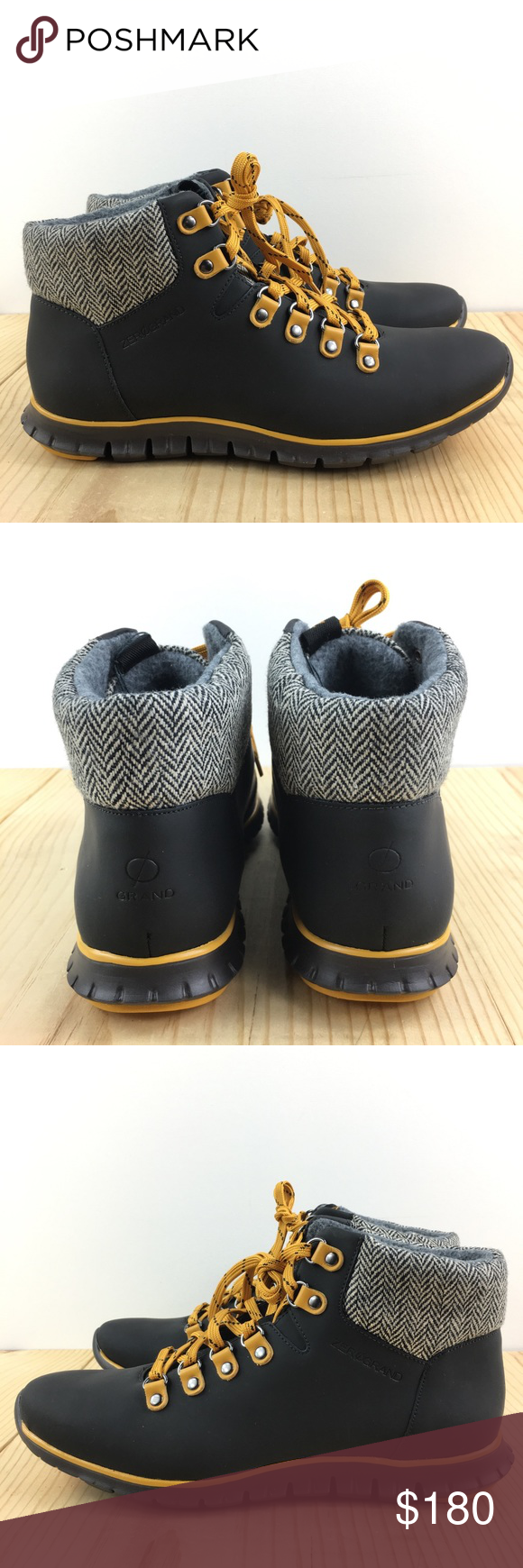 383a61f472b Cole Haan Zerogrand Hiker Boots Waterproof Size 10 NWT in 2018 | My ...