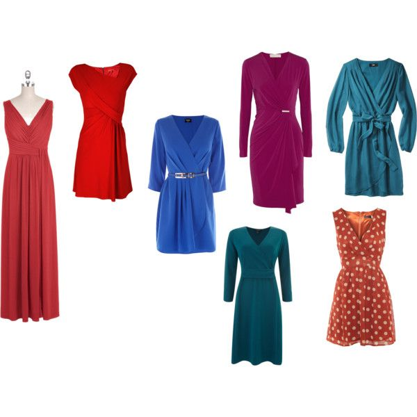 Dresses For A Round / Apple Shaped Body