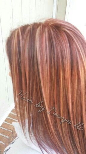 Red Base With Highlights And Purple Lowlights Love This