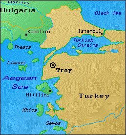 Map Of Troy Map of Troy | Maps of the Ancient World | Ancient troy, Ancient