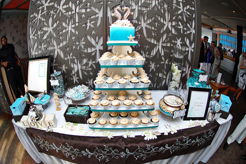 Cupcake tree and Dessert table