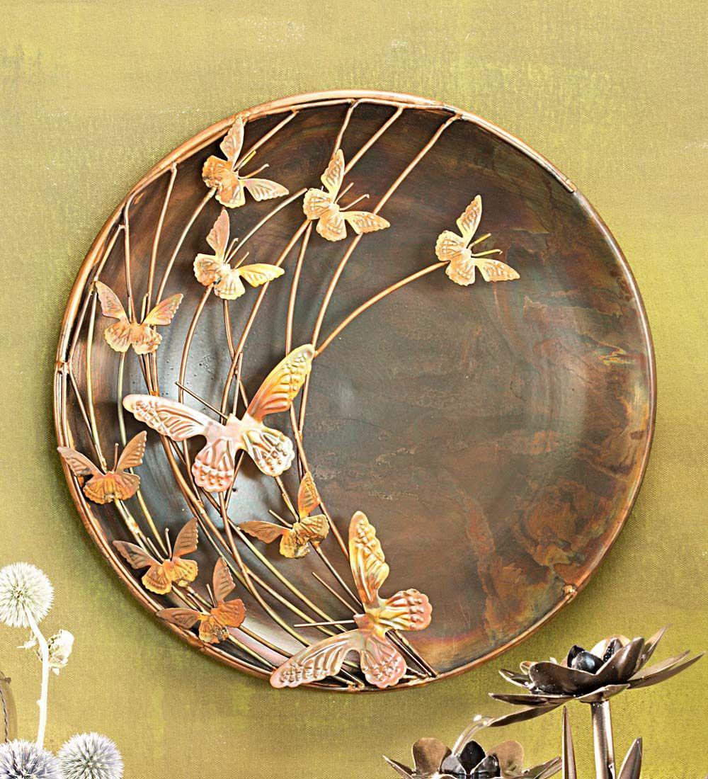 Butterflies decorative bowl wall art butterflies pinterest sea
