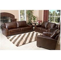 Outstanding Brighton Hand Rubbed Top Grain Leather Sofa Loveseat And Machost Co Dining Chair Design Ideas Machostcouk