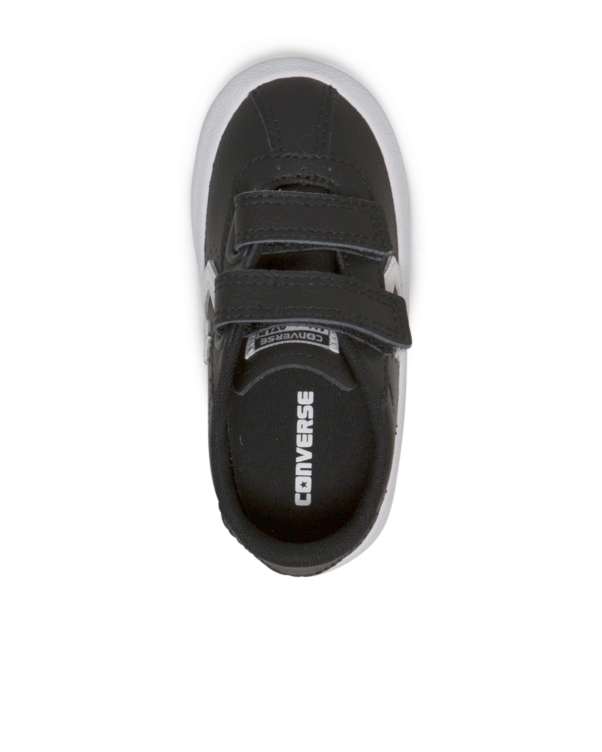 231d4f4b1d4da3 Converse Breakpoint Toddler 2V Leather Low Top is classic converse styling  with two velcro strap closures