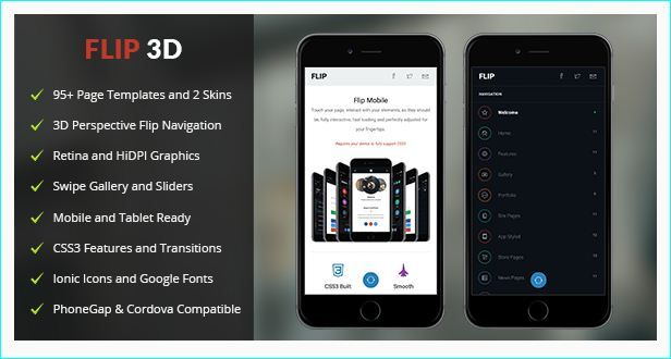 30 Creative HTML Mobile Website Templates | Creative HTML Mobile ...