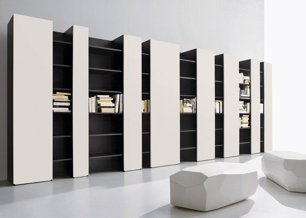 Mobile per soggiorno moderno, alto design, porta tv IDFdesign | Casa ...