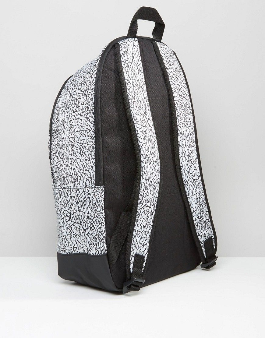 Image 2 of adidas Originals Backpack With Print In Black AY7837