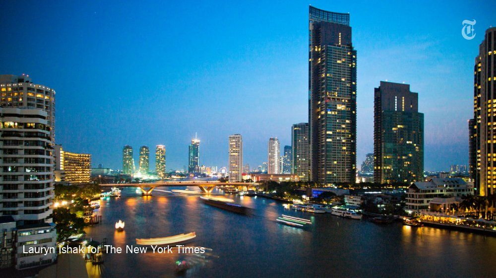 The Chao Phraya, Bangkok's long-neglected river, is returning to its glory days. https://t.co/WZm8LEwWC9
