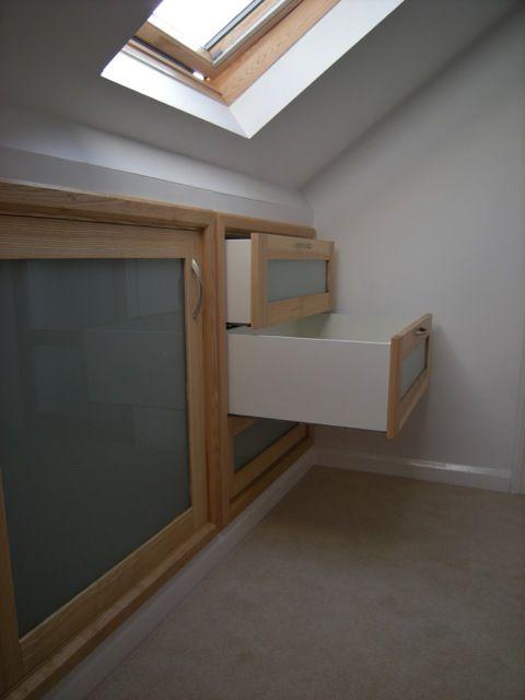 Northmark - Loft Conversion Storage (interesting, neat storage in eaves?