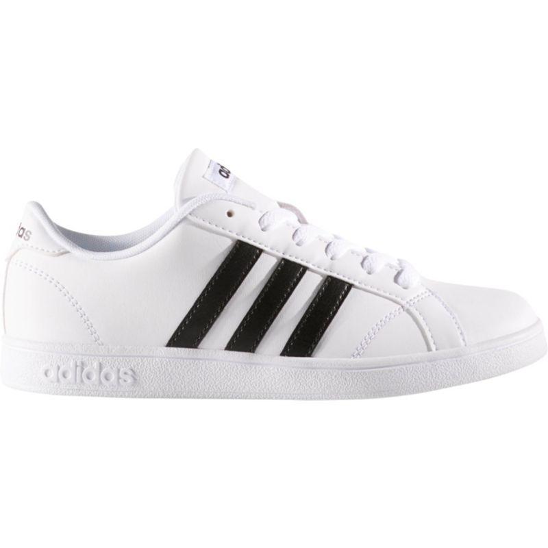 adidas Neo Kids' Preschool Baseline Shoes, Boy's, White