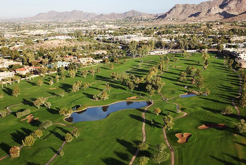 The Adobe course at the Arizona Biltmore provides golfers