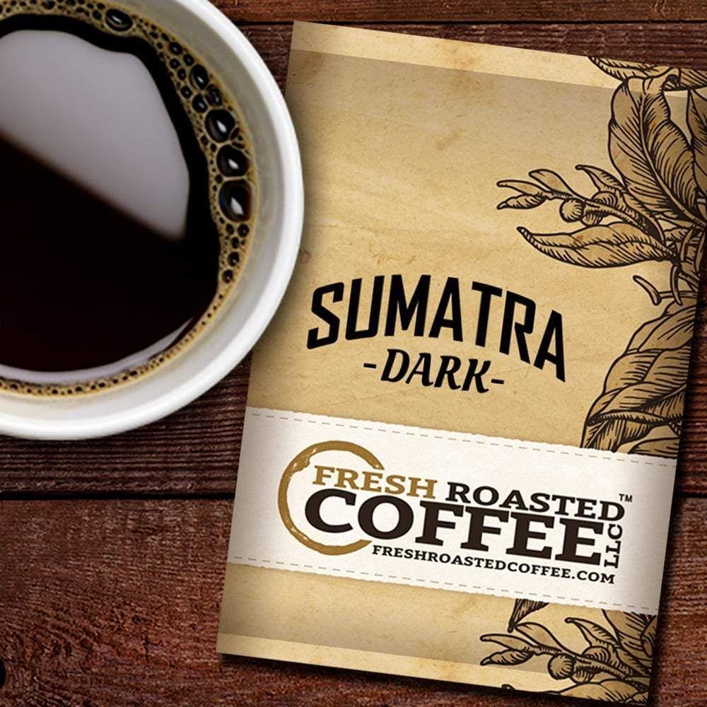 Dark Sumatra Coffee Packs 2.25 oz., Box of 24