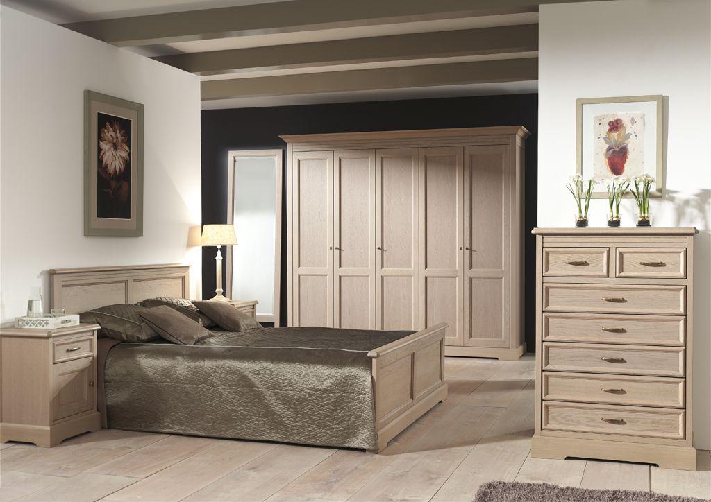 Slaapkamers - York - Massieve eiken slaapkamer. Keuze uit ...