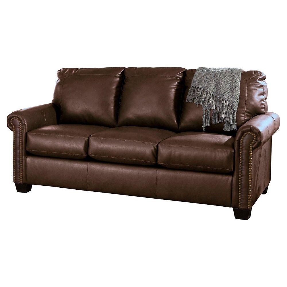 Lottie Durablend Full Sofa Sleeper Chocolate Brown