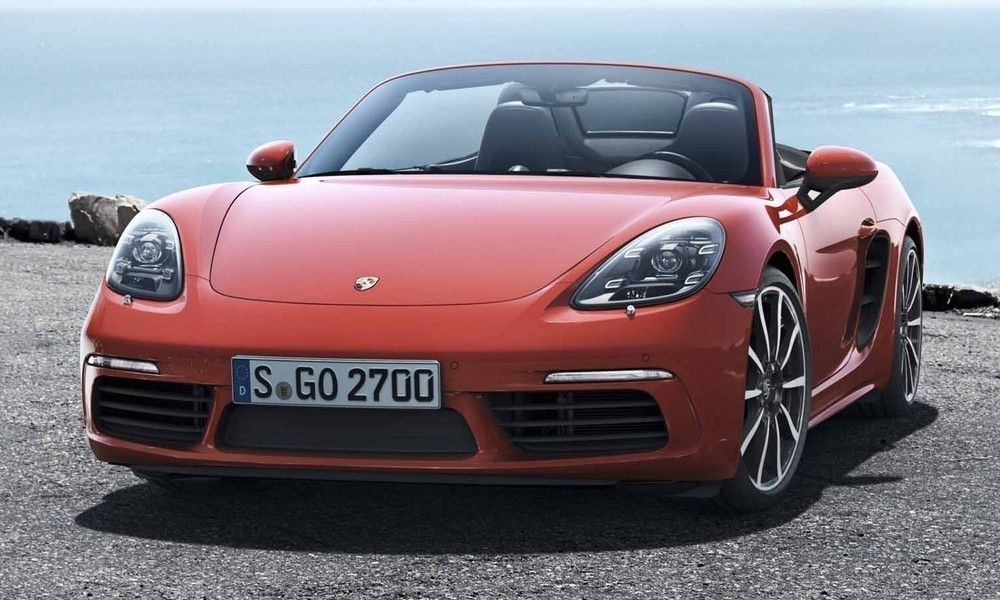 Meet the Porsche 718 Boxster and its New Flat-Four Engine http://www.autotribute.com/44009/porsche-718-boxster-new-4-cylinder-engine/ #GermanLuxury #Porsche #GermanPerformance #Porsche718Boxster #PorscheBoxster #Porsche718