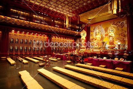 Buddhist Temple Interior Buddhist Temples Interior Buddhist