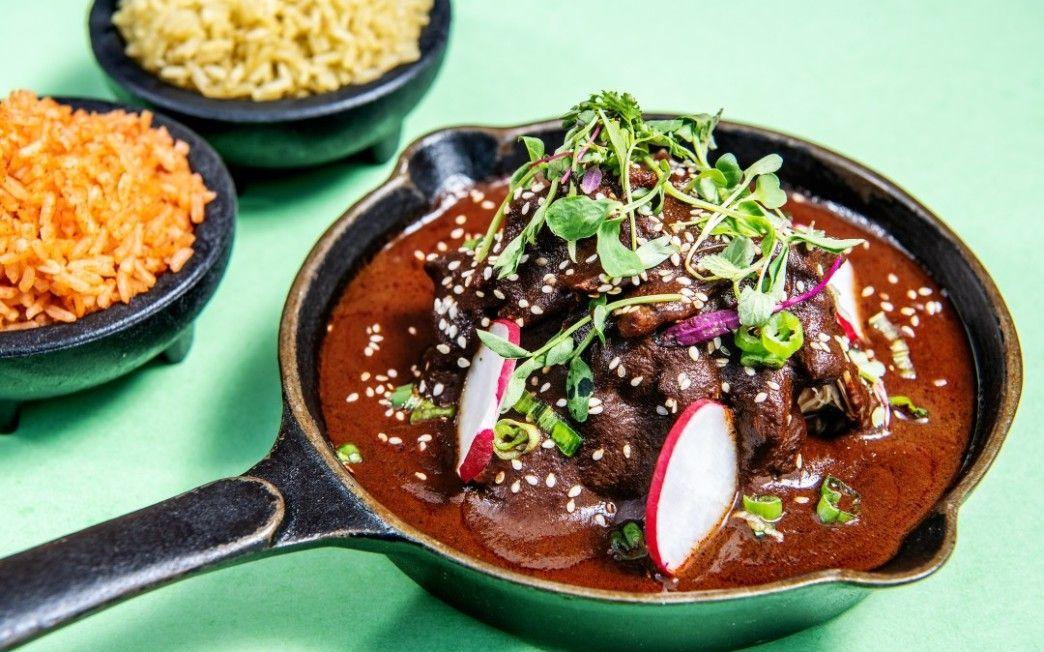 Cacao Mexicatessen Mission Fig Mole Sauce Recipe In 2020 Recipes Mole Sauce Mole Recipe