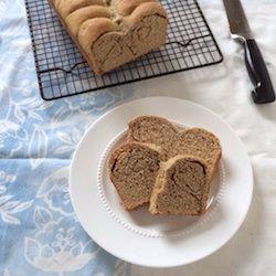 Whole Grain Cinnamon Roll Bread HealthyAperture.com