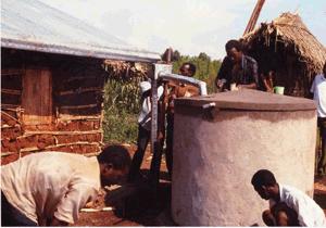 water tanks for rainwater harvesting