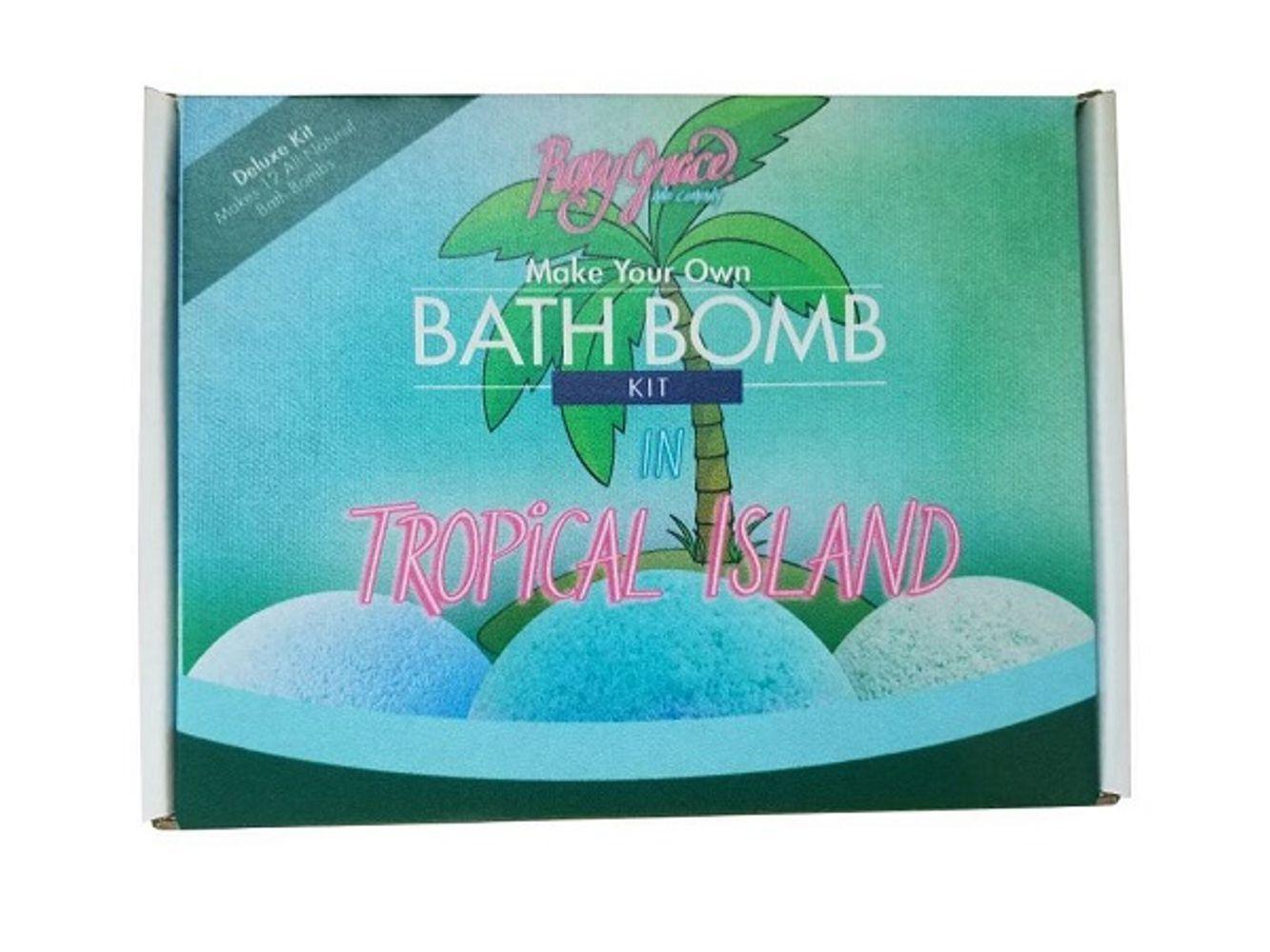 Photo of DIY Tropical Island Deluxe Bath Bomb Kit