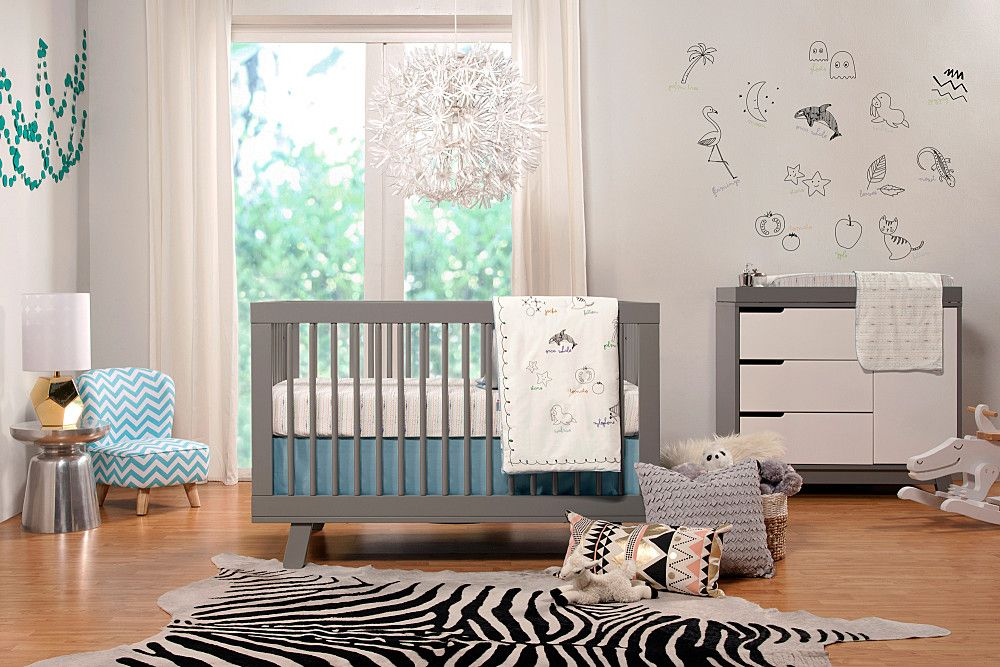 High style isn't just for adults; Babyletto modern nursery furniture is  safe,