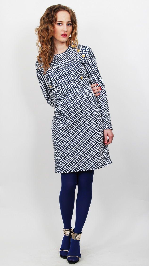 de3515fad78 Трикотажное платье с рукавом-реглан