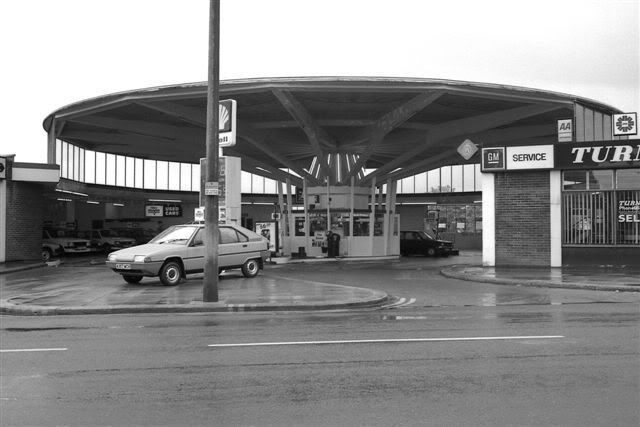 Turnbulls Petrol Station In Plymouth City Centre