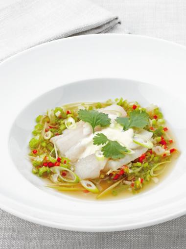 Oosters soepje met scharretong