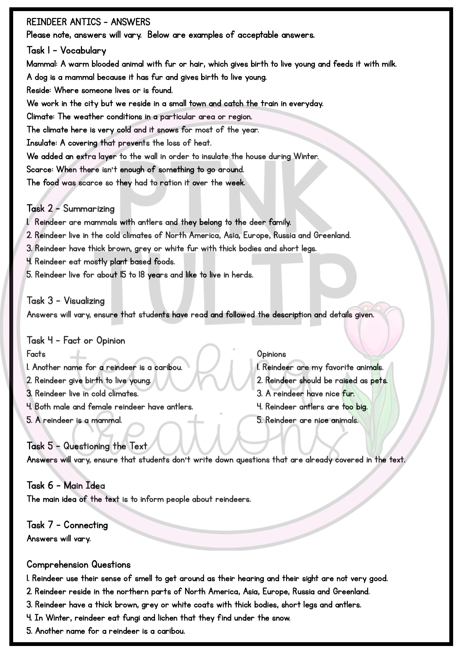 Christmas Themed Information Texts Reading Strategy Comprehension Reading Strategies Reading Comprehension Resources Comprehension