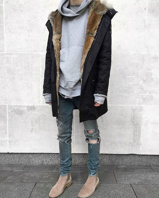 Furrrrrr | Menu0026#39;s fashion | Pinterest | Hypebeast Yeezy and Ootd