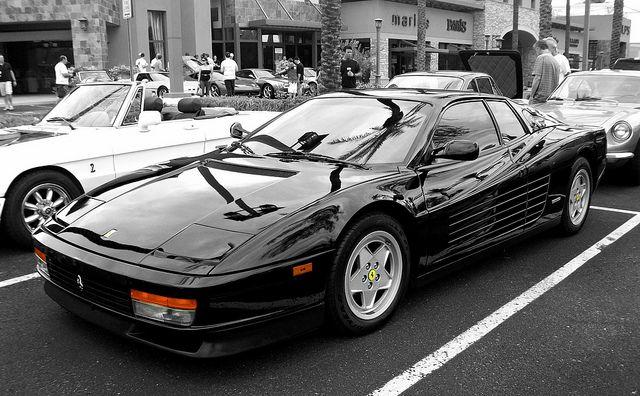 Ferrari Testarossa by Monkey Wrench Media, via Flickr