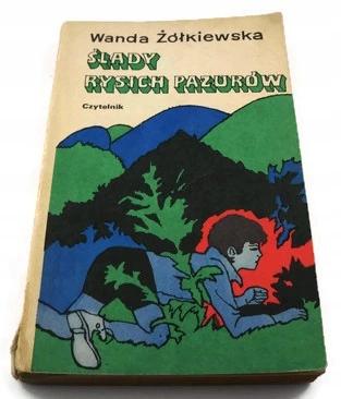 Slady Rysich Pazurow W Zolkiewska Book Cover Books Cover