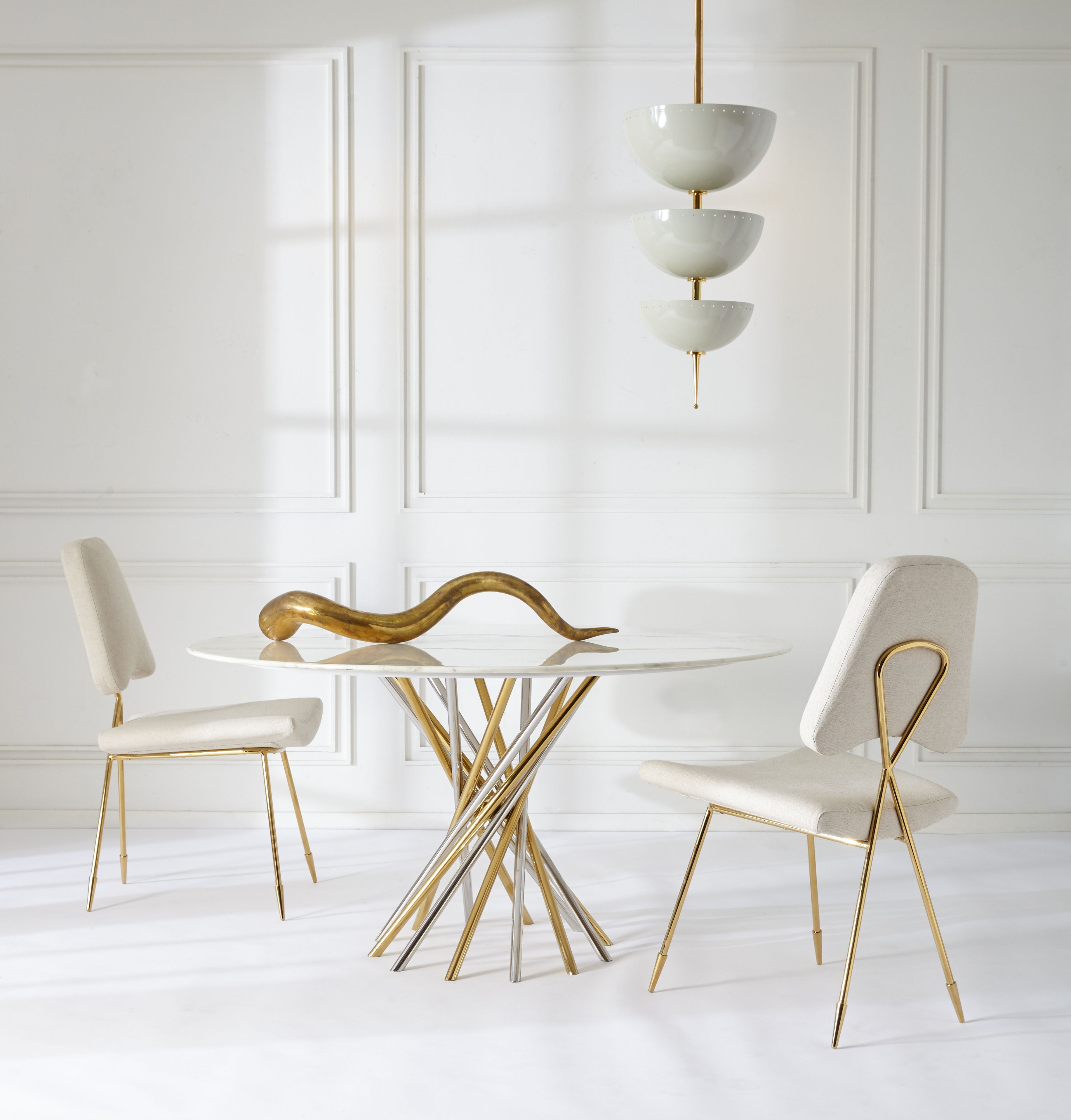 Our Electrum Dining Table Simple But Kinetic A Future Classic Luxury Dining Room Luxury Dining Tables Dining Room Design