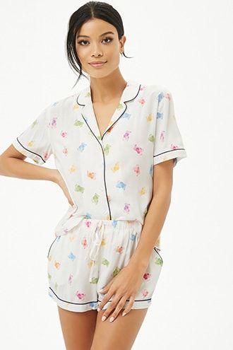 e314eaa55a8d Gummy Bear Print Pajama Set