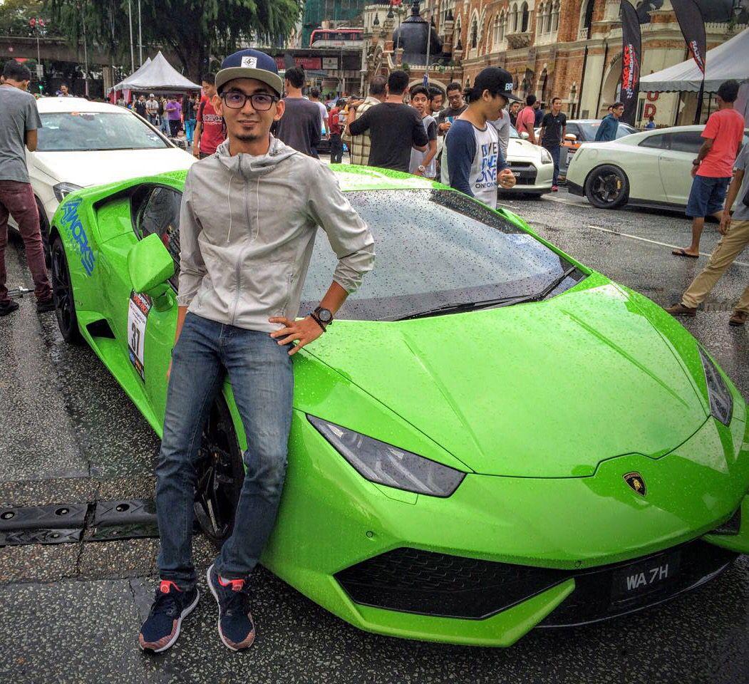 Lamborhgini Huracan. Drag race Malaysia Car, Drag race