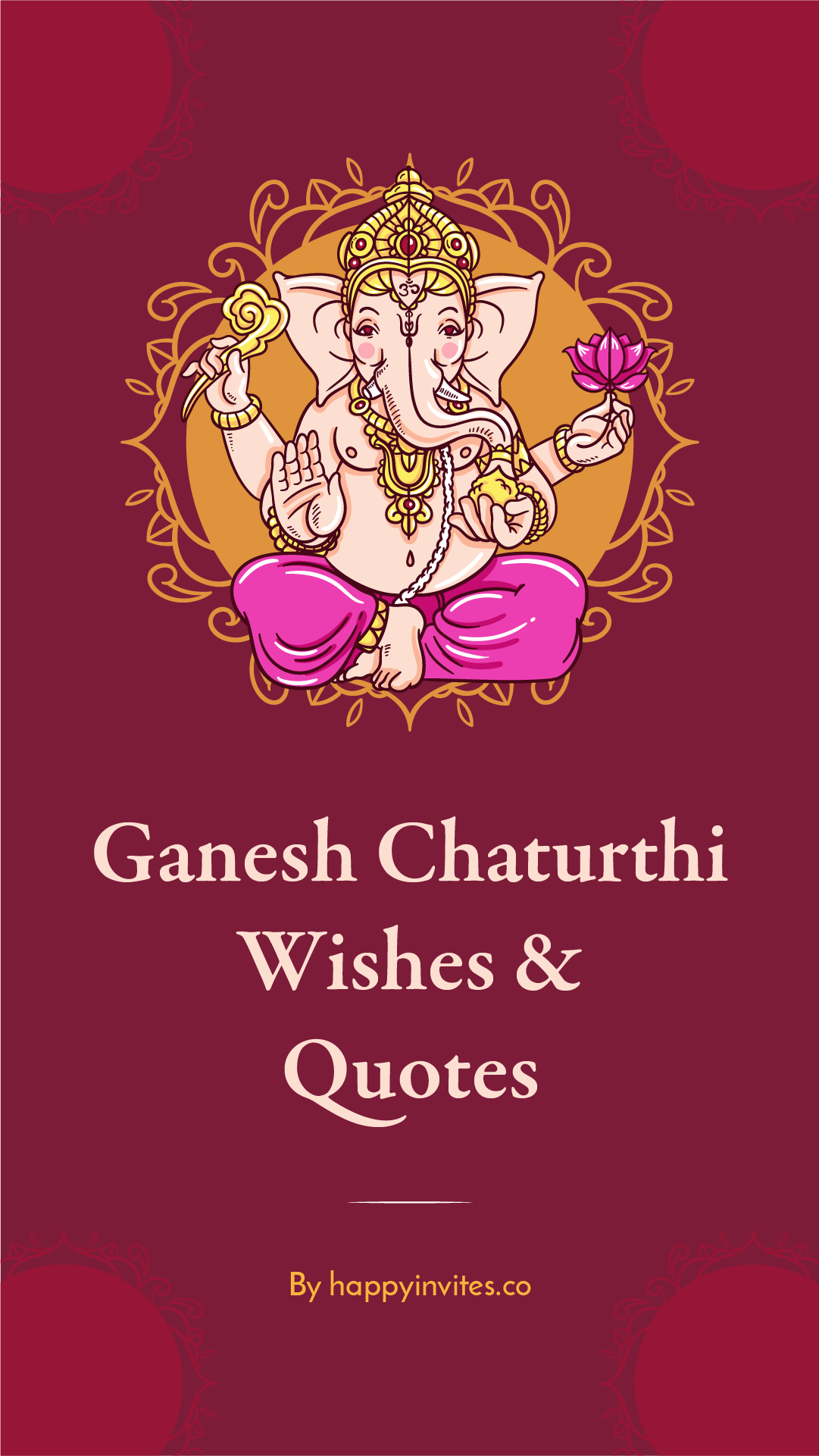 Ganesh Chaturthi Wishes Quotes Free E Card Maker Happy Invites Happy Ganesh Chaturthi Wishes Ganesh Vinayaka Chaturthi Wishes