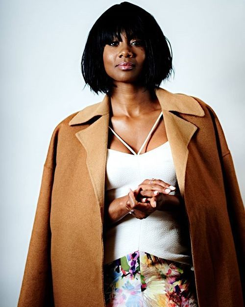 This fresh bob rocked by Emayatzy Corinealdi makes a classic statement with blunt bangs. Styled by @takishahair Hair texture used @tsdhairextensions Spring Wave