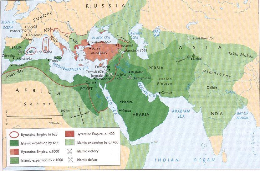 The Eastern Roman Empire Vs Islam Maps Pinterest Roman Empire