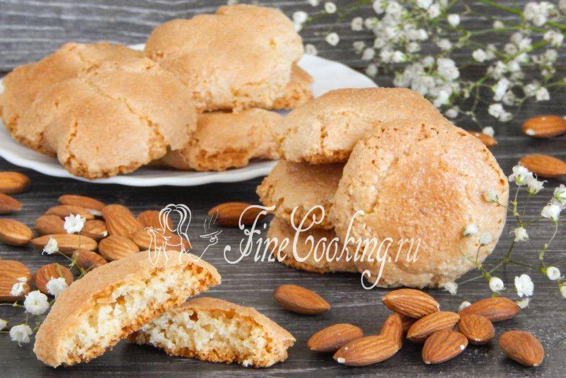 Печенье Амаретти - рецепт с фото