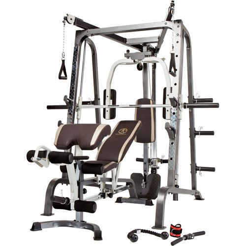 Marcy diamond home gym smith cage with linear bearings home gym md 9010g review