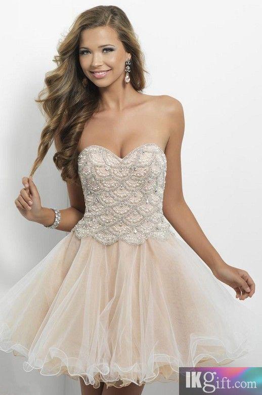BLUSH Mini-Length Homecoming Dresses - Style: 9650 - HomeComing ...