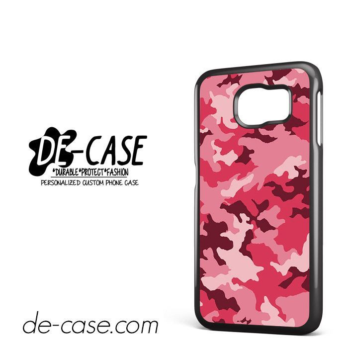 Pink Camouflage DEAL-8649 Samsung Phonecase Cover For Samsung Galaxy S6 / S6 Edge / S6 Edge Plus