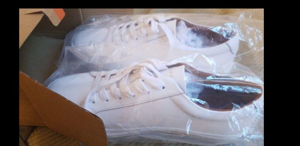 ee309128c7c55 New Republic By Mark McNairy Leather Kurt White Shoe Mens Size 9.5 ...