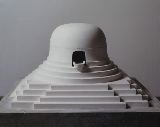 'Milarepa's Helmut', by James Turrell, 1989