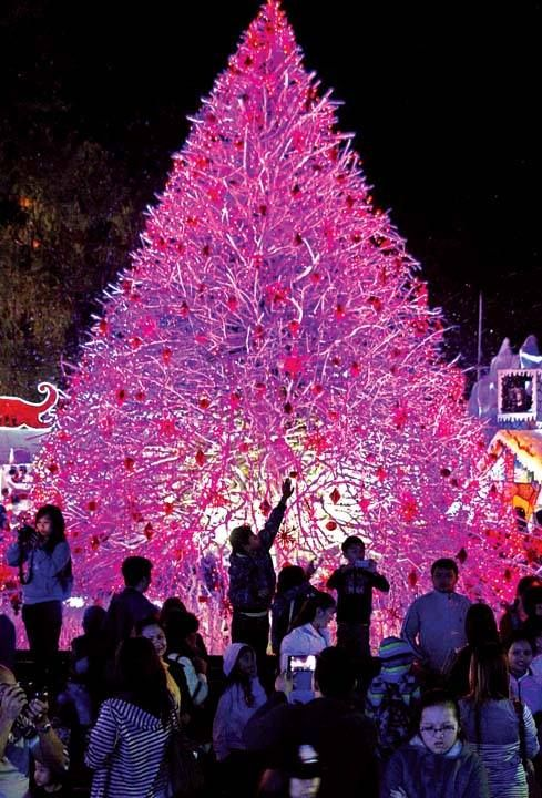 Christmas Village Baguio.A Giant Christmas Tree At Baguio City S Christmas Village