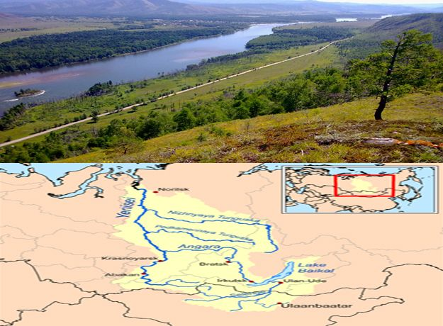 Yenisei River And It Is Claimed As Fifth Longest One In The World - World's longest rivers top 5