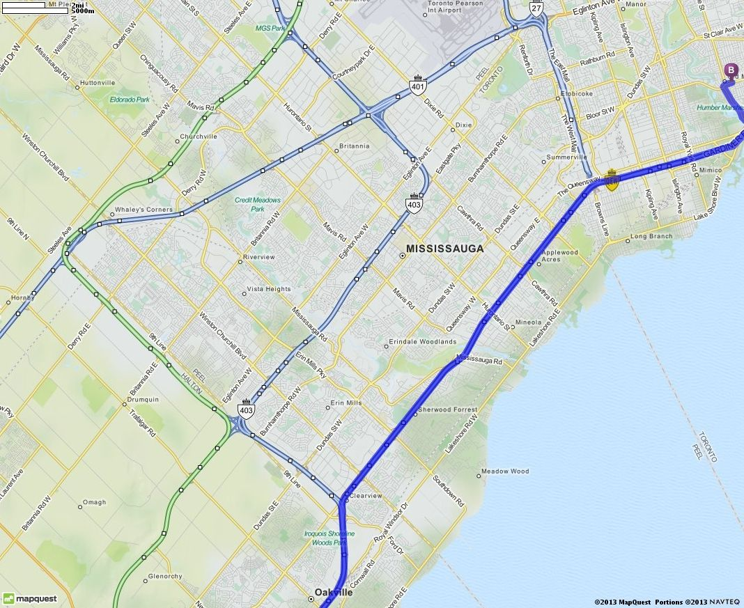 driving directions from 24 prospect street kingsville ontario to 2357 bloor street w toronto ontario