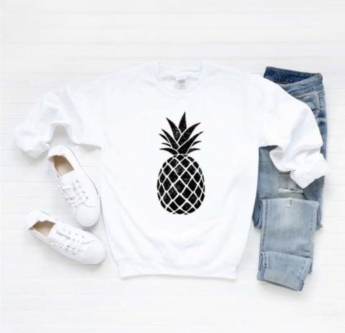 Pineapple Sweatshirt Sweatshirts Pineapple Sweatshirt Sweatshirts Women [ 1085 x 1125 Pixel ]